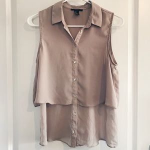 Forever 21 Button-Up Top